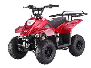 "110cc Four Wheelers 6"" Tires ATV- Best ATV for 8-year-old"