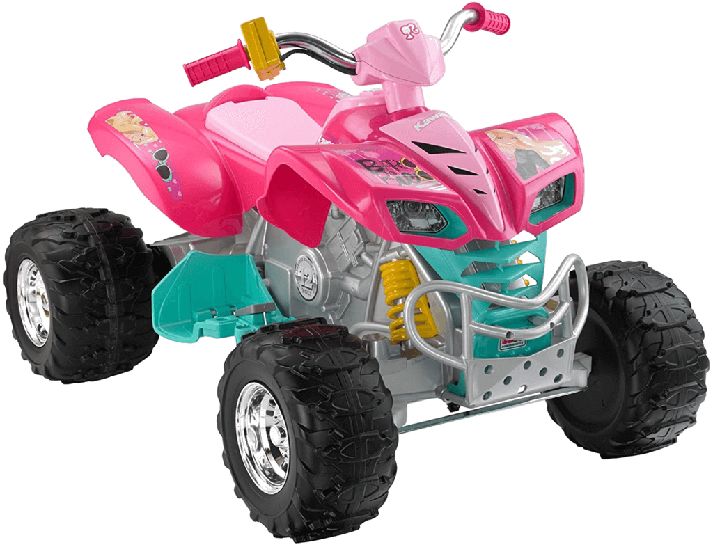 Power Wheels Barbie Kawasaki KFX