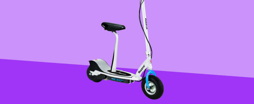 Razor E300/E300S Seated Electric Scooter Review