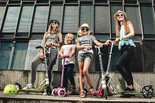 Electric Scooter With Seat for Adults and Kids 2019