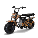 Monster Moto MM-B80-LB Black Legends Blaze