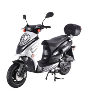 TaoTao CY50-A SILVER 49cc Gas Automatic Scooter Moped