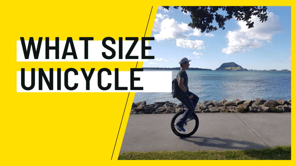 what size unicycle